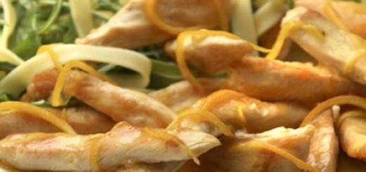Siciliaanse kip roerbakken
